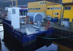 Utruster nytt fartøy til Bjørøya