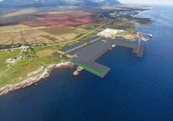 Skal bygge landbasert gjennom-strømningsanlegg for matfisk