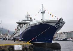 Flytedokk sank da «Norwegian Gannet» var på vei inn