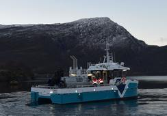 Oppdrettsbåt overlevert til Cermaq Norway