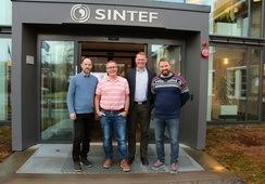 SINTEF Molab og Kystlab inngår intensjonsavtale om fusjon