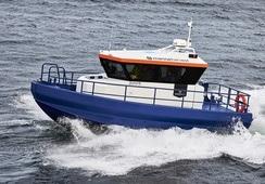 Ny personellbåt til Marine Harvest Norway
