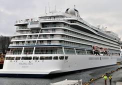 Her starter cruisesesongen i Bergen