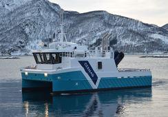 Ny oppdrettsbåt overlevert til Cermaq