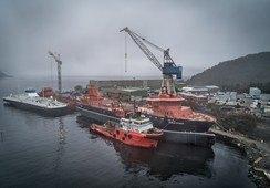 Verdens største brønnbåt på plass ved Havyard