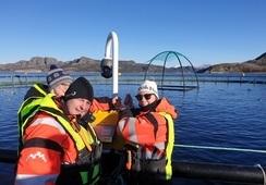 Fikk tillit i Emilsen Fisk - Stortrives på sjøen