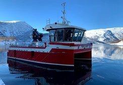 Sjette fartøyet overlevert fra Grovfjord Mek. til oppdretter