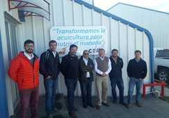 Ejecutivos de Invermar visitan CEA de Salmofood