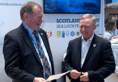 Scottish Salmon Company earns third BAP star