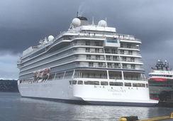 Skal øve på cruisehavari i Arktis