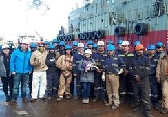 AquaChile inaugura nuevo pontón en Magallanes