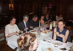 Siste måltid for norske sjøfolk i London