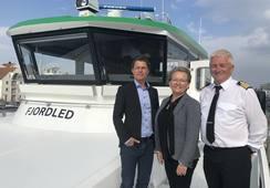 Kolombus og Norled med verdens første hybride hurtigbåt