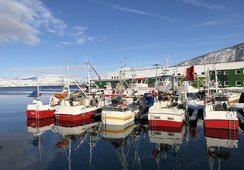 Bygget om fiskebåt til bruk i oppdrett