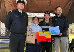 Mowi conmemoró Mes del Mar con actividad en Isla Huar