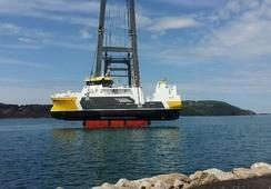 Sjøsatte ny prosessbåt i dag