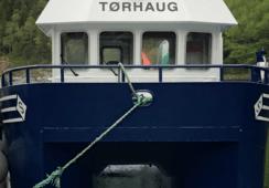 Første båt til blåskjellnæringen