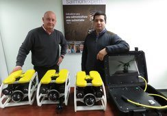 En Chile: Lanzan primer ROV submarino especial para la salmonicultura