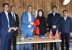 BioMar suministrará alimento más ecológico a productor chino de trucha