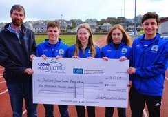 Cooke gives £20,000 to help islands athletes rock Gibraltar