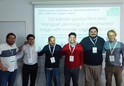 En Irlanda: Académico UACh expone sobre optimización de la salmonicultura