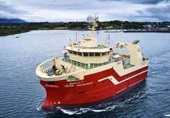 Eksportkreditt med 500 millioner til 6 nye islandske trålere fra Vard, Aukra