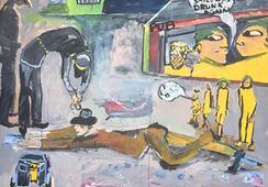 Ingen vil ta med krigsseilermaleriene