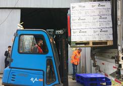 Blumar exporta por primera vez salmones desde Concepción a Brasil