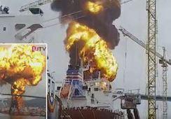Stolt-tanker eksplodert i Korea