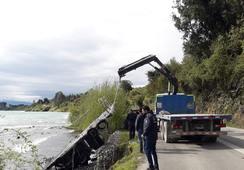 Centro de Caleta Bay sufre desprendimiento de estructuras