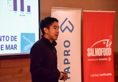 Salmofood desarrolla jornada junto a fundador de Aquabyte
