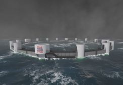 Aprueban centro offshore con capacidad de 3.000 toneladas de salmón