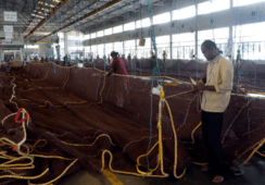 Havfarm's 11-tonne nets take shape in India