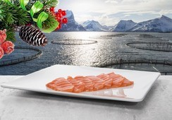 Norwegian salmon reaches second-highest December price