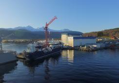 Nylig overleverte «Ronja Islander» skal til Canada