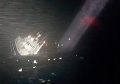 Alle reddet etter at MS «Fay» sank