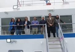 Nuevo pontón para las operaciones de BluRiver en Magallanes