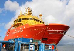 «Viking Energy» blir første skip på ammoniakk