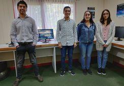Jóvenes chilenos desarrollan equipo que detecta y controla algas nocivas