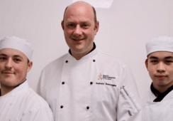 Salmon skills win student chefs a trip to Brussels