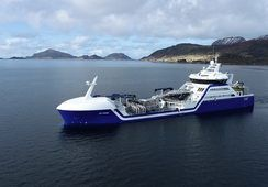 World's first hybrid wellboat charges into action