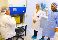 Inngår samarbeid om koronaprøver med et nytt havbrukslaboratorium