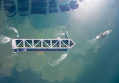 Havfarmen «Jostein Albert» har utført sin første testtur