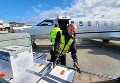 Sender avgårde rogn med privatfly