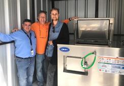 Presentan nueva tecnología para reducir residuos orgánicos en industria del salmón