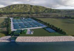 Inversionistas chilenos se unen para construir nueva piscicultura en Los Ríos