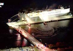 Eksplosjon i Høegh-skip