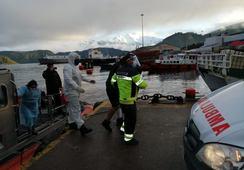Dos accidentes involucraron a centros de cultivo en Aysén