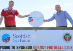 Football club thanks salmon farmer for 'lifeline' funding