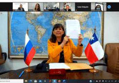 Chile y Rusia firman protocolo para mayor control de enfermedades en productos acuícolas